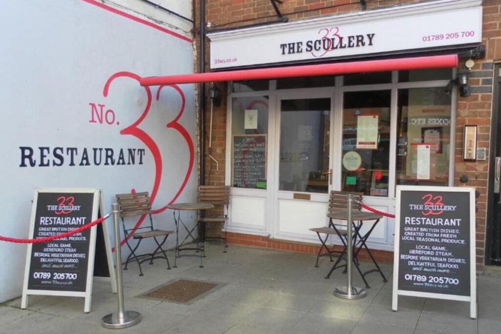 No.33 Scy Restaurant Branding