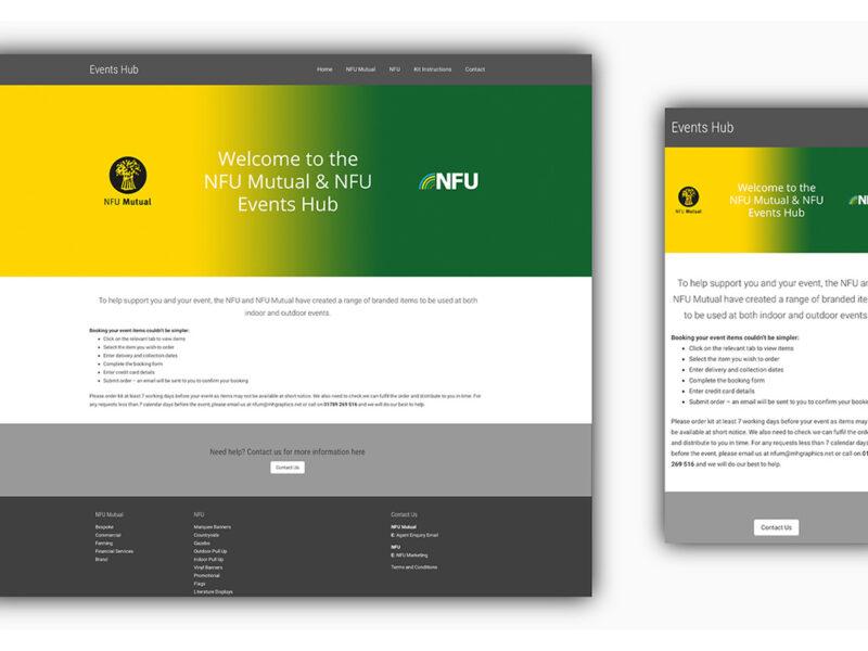NFU Mutual / NFU Events Website
