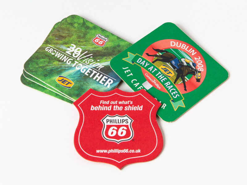 Phillips 66 Beer Mats