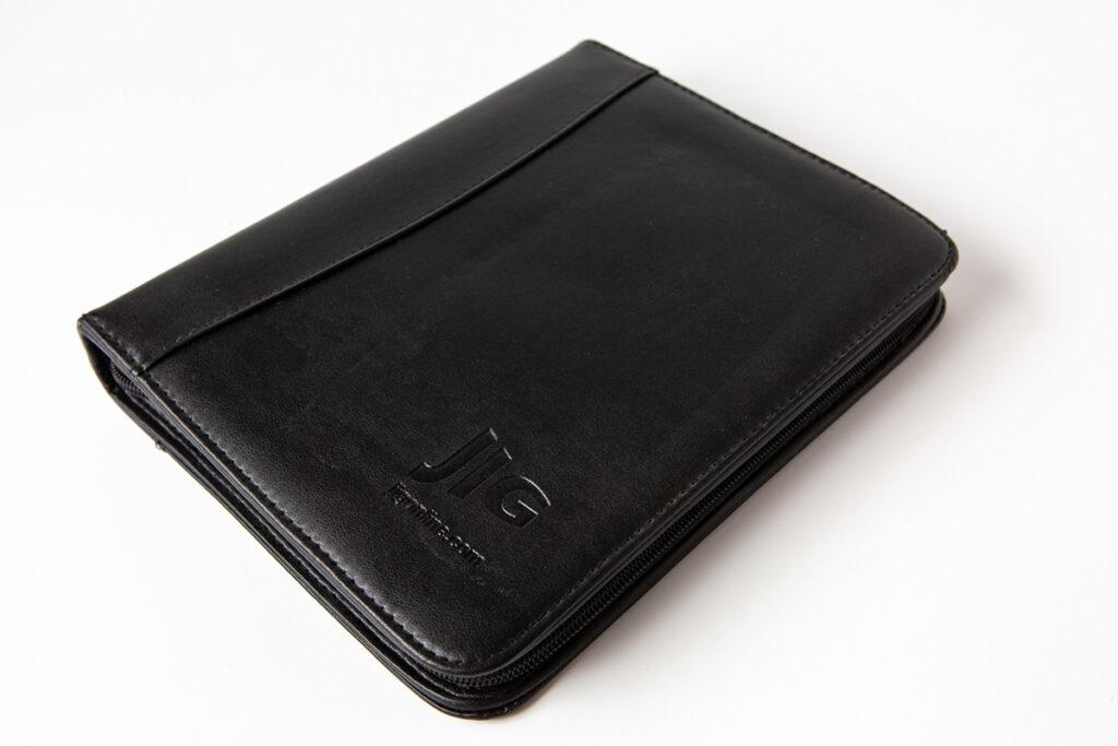JIG Leather Bound Wallet Folders