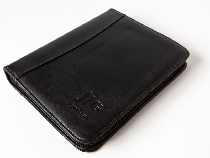 JIG Leather Bound Wallet Folders