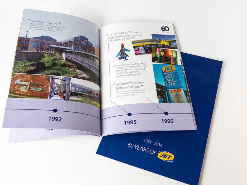 JET 60 Year History Brochure