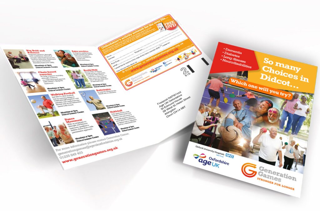 Generation Games Leaflets