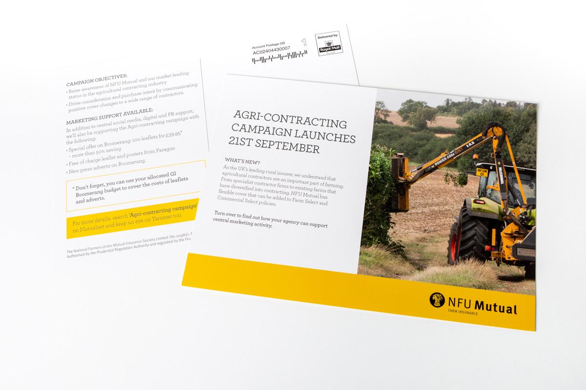 NFU Mutual Direct Mailings